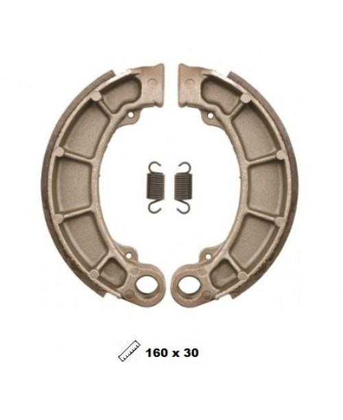 Тормозные колодки V-Brakes органика барабанные Honda Pantheon 125-150 1998-2002