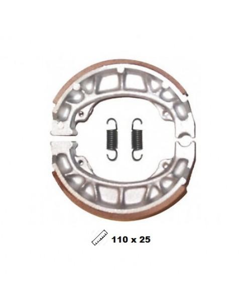 Тормозные колодки V-Brakes органика барабанные SR50/ BALI, Scoopy, Speedfight