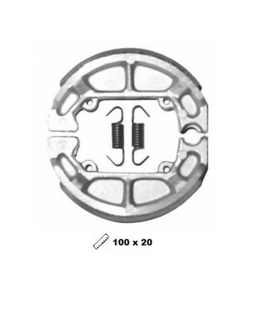 Тормозные колодки V-Brakes органика барабанные TYPHOON 50, FAST RIDER (T)