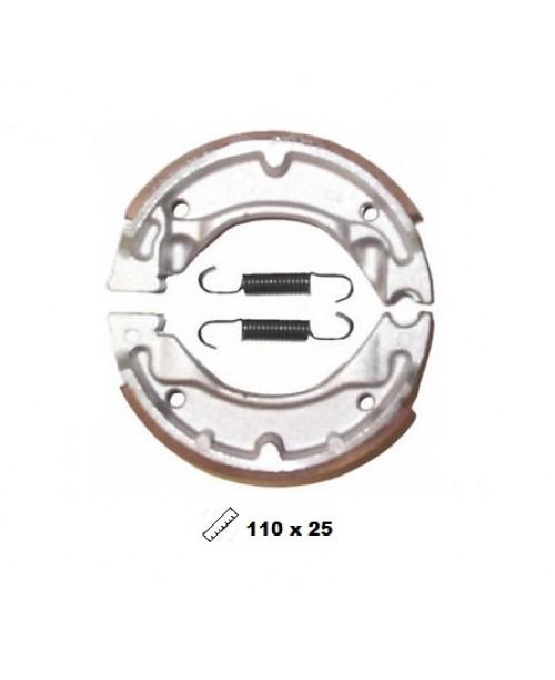 Тормозные колодки V-Brakes органика барабанные JOG, JOG R, AXIS, BWS, NEOS Aprilia SR