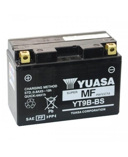 Аккумулятор YT9B-BS YUASA YT9B-BS 8Ah, 120CCA, 3,4 KG ОБЩИЙ ВЕС,  150x70x105 +/-
