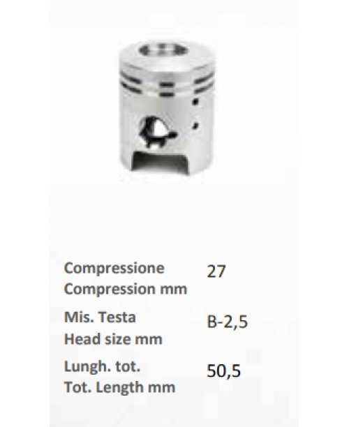 Поршень 2T 50 APRILIA 2T 50 Scarabeo DITECH Инжектор  (Мотор Suzuki)  Ø 40,99 SEL. D.