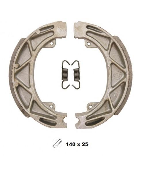 Тормозные колодки V-Brakes органика барабанные Piaggio Liberty 50 2T/4T 97->