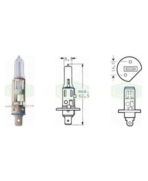 Лампа H1 12V  55W  socket P14,5s