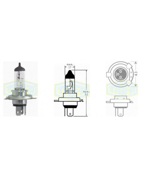Лампа HS1 12V 35/35 W   socket  px43T