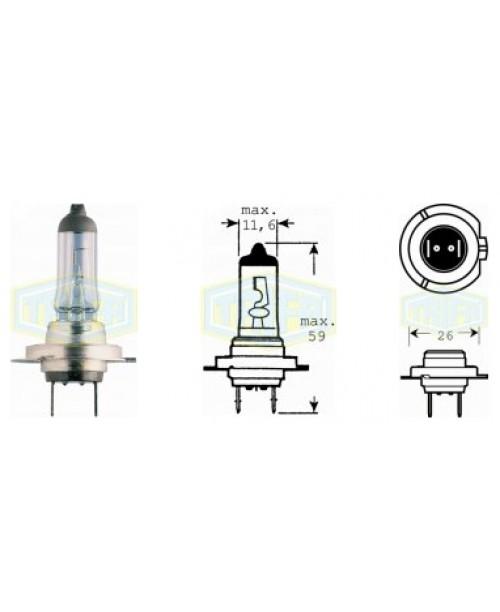 Лампа H7 12V 55W  socket PX26d