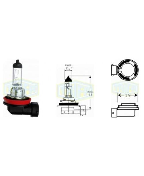 Лампа H8 12V 35W socket PGJ19-1