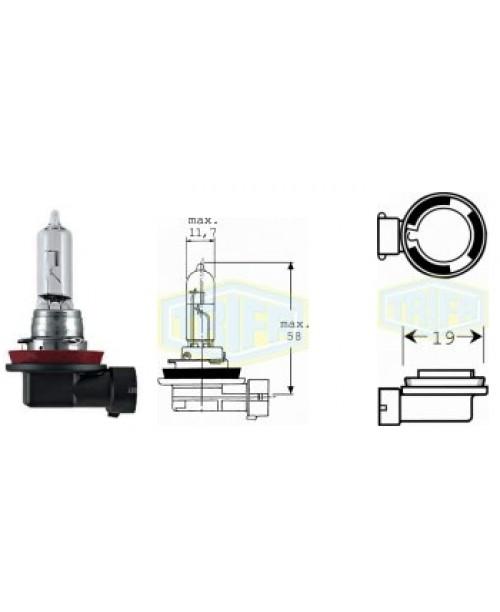 Лампа H9 12V 65W socket PGJ19-5