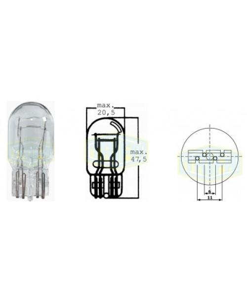 Лампа торм - габарит без цоколя 12v21/5w W3x16q