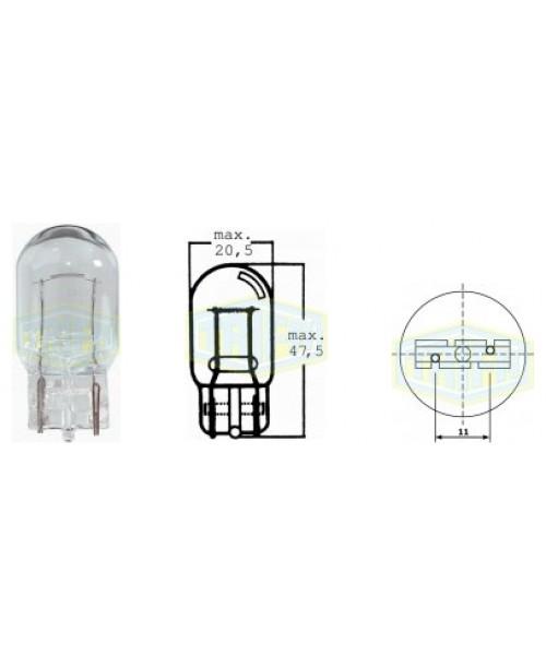Лампа 12v21w socket W3x16d