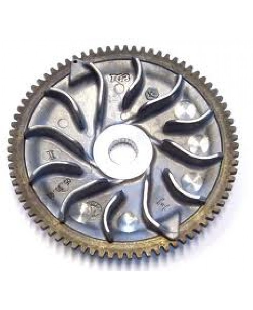 Крыльчатка вариатора Piaggio 125/150/180 2T  Hexagon/Runner, Aprilia SR 125/150  OEM: 487957