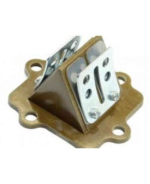 Лепестковый клапан APRILIA/YAMAHA 2T 50cc (MINARELLI) гориз