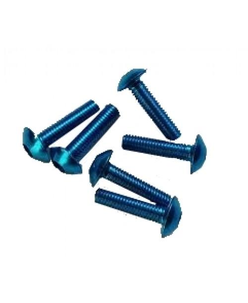 Болты для пластика M6x20 син