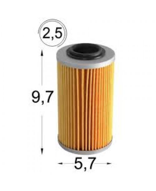 Масляный фильтр APRILIA RSV 1000 04->,TUONO 1000 06->, BUELL 1125R 09-> HF564