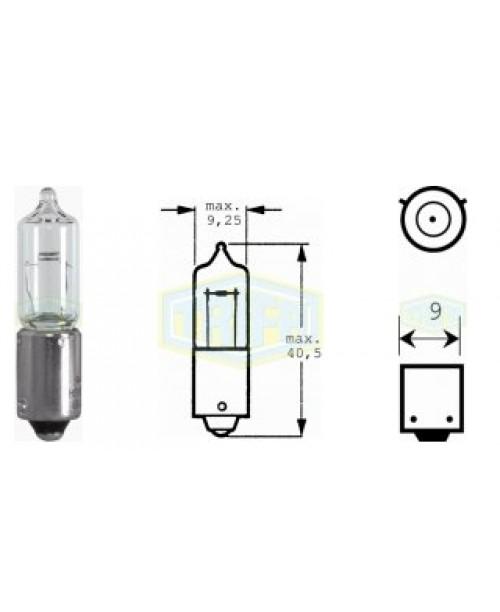 Лампа 12V 21W BAY9s