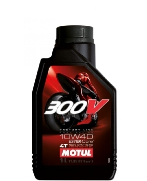 Масло MOTUL 4T Motul 300V Factory Line Racing Oil 10W40 1 литр