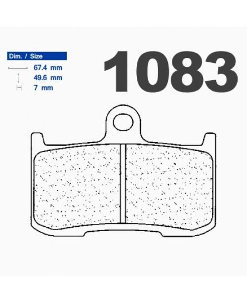 Тормозные колодки CL синтетические 1083A3+