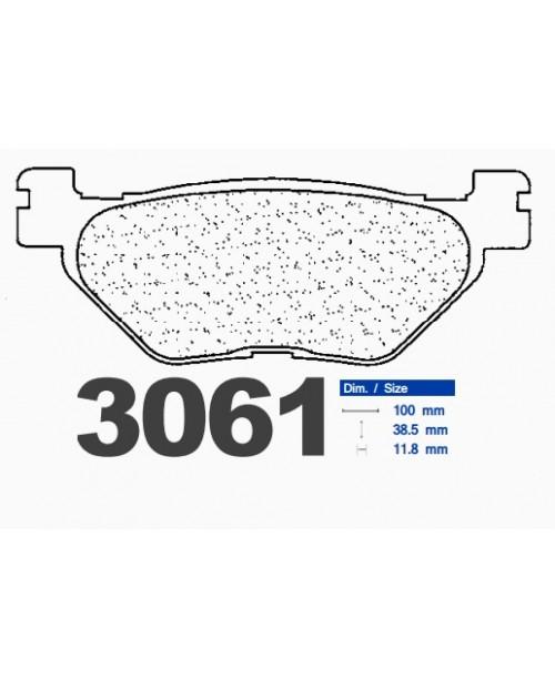Тормозные колодки CL синтетические 3061