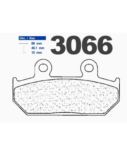 Тормозные колодки CL синтетические 3066MSC