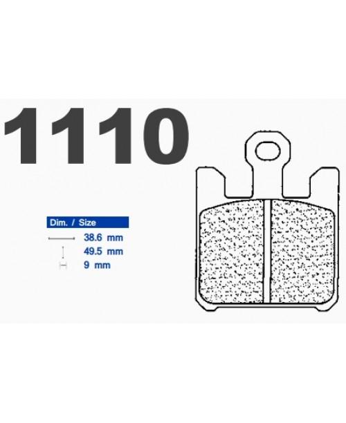 Тормозные колодки CL синтетические 1110A3+