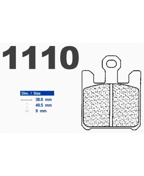 Тормозные колодки CL синтетические 1110XBK5