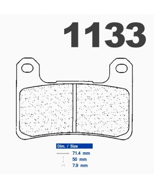 Тормозные колодки CL синтетические 1133A3+