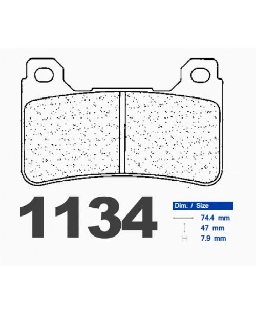 Тормозные колодки CL синтетические 1134A3+