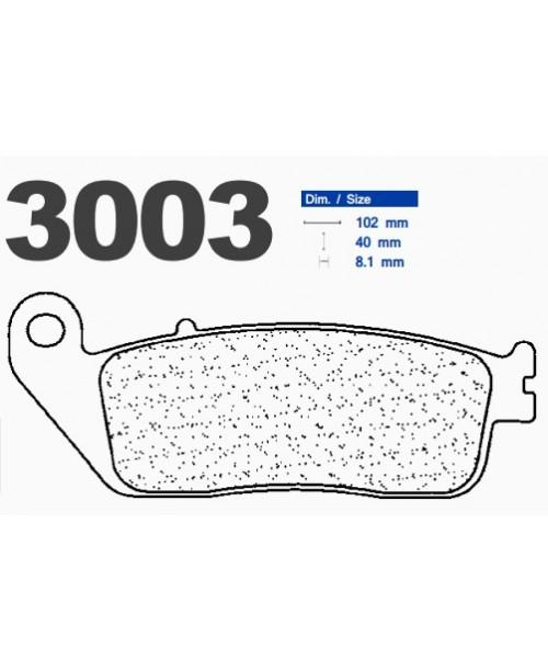 Тормозные колодки CL синтетические 3003MSC