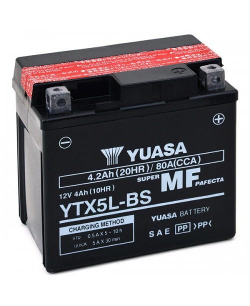 Аккумулятор YTX5L-Bs Yuasa