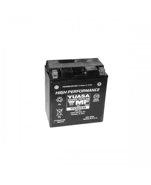Аккумулятор YTX20CH-BS YUASA YTX20CH-BS 18Ah, 270CCA, 0,82LITR ACID, 6,1 KG ОБЩИЙ ВЕС, 150x87x161 +/-