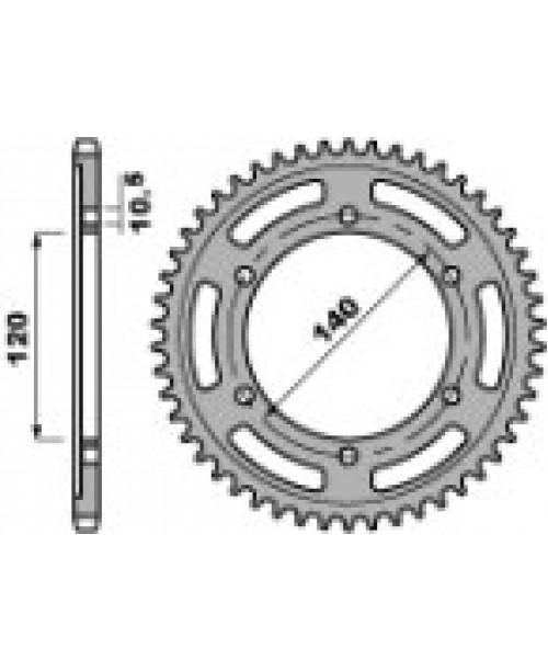 Звезда Приводная задняя KAW VN800 Z42 C45 C.530