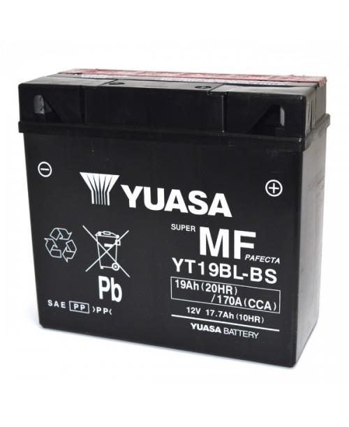 Аккумулятор YT19BL-BS YUASA YT19BL-BS 17,7Ah, 170CCA, 0,95 LITR ACID, 5,7 KG ОБЩИЙ ВЕС,  186x82x171 -/+