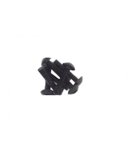 Болты для пластика M5x20 черн