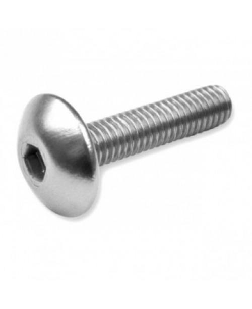 Болты для пластика M6x20 серебр