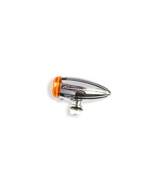 Указатель поворота  Bullet 21w  металл, хром, Classic/Chopper/Custom