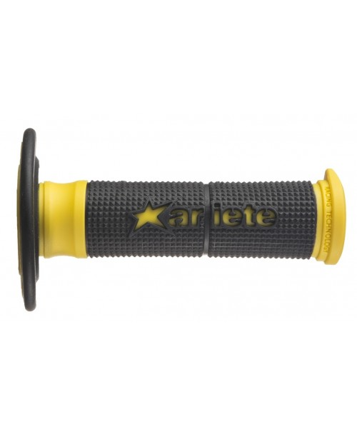 Ручки руля Ariete Cross DUALITY GRIPS BLACK-YELLOW