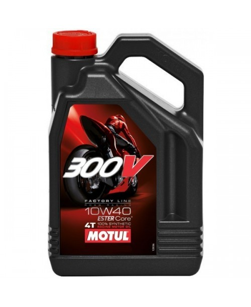 Масло MOTUL 4T Motul 300V Factory Line Racing Oil 10W40 4 литра