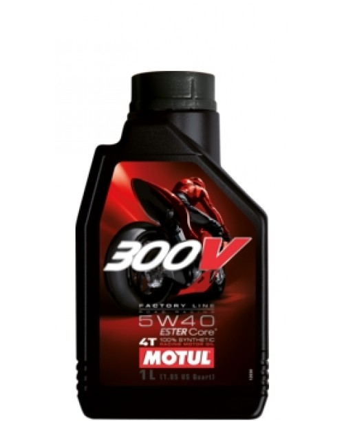 Масло MOTUL 4T Motul 300V Factory Line Racing Oil 5W40 1 литр