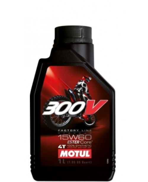 Масло MOTUL 4T Motul 300V OFF ROAD Factory Line 15W60 1 литр