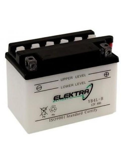 Аккумулятор YB4L-B ELEKTRA YB4L-B W/ ACID