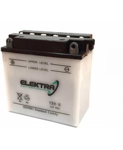 Аккумулятор YB9-B ELEKTRA YB9-B W/ ACID