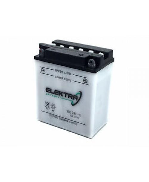 Аккумулятор YB12AL-A ELEKTRA YB12AL-A W/A