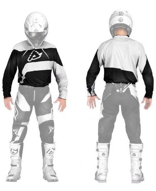 Джерси Acerbis IMPACT MX цвет черн/бел, разм XXL