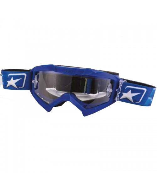 Очки кроссовые ADRENALINE - PRIMIS BLUE
