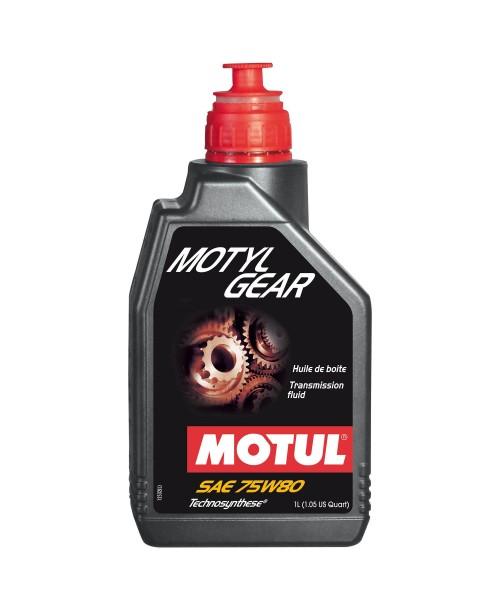 Масло трансмисионное Motul Motulgear 75w-80 1L