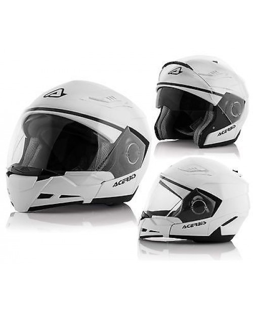 Шлем Acerbis CROSSOVER  STRATOS 2 / Белый / разм L