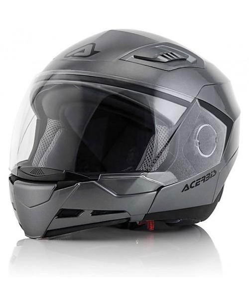 Шлем ACERBIS CROSSOVER  STRATOS 2 / Серый / разм XL