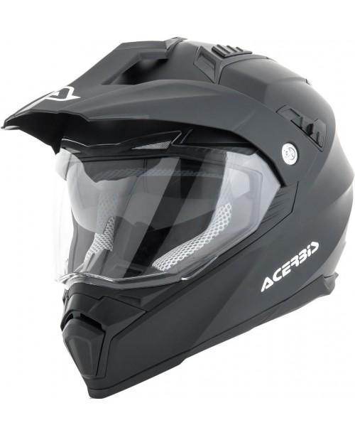 Шлем ACERBIS ATV FLIP FS-606, Черный мат,  разм:  M