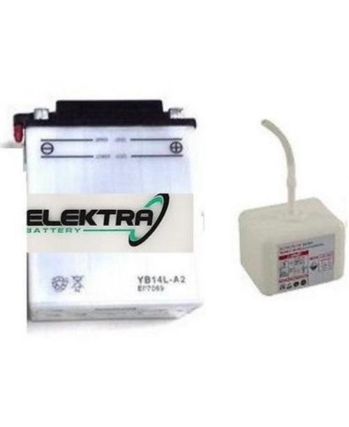Аккумулятор YB14L-A2 ELEKTRA W/ACI