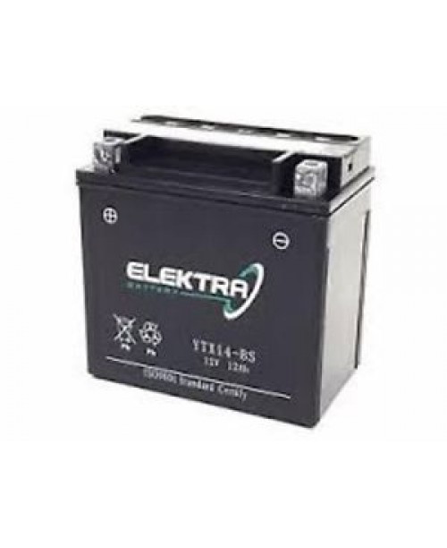 Аккумулятор YTX14-BS ELEKTRA